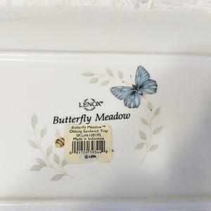 Lenox Dining - 🎄Lenox Butterfly Meadow Sandwich Serving Tray NWT